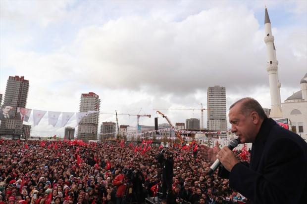 CumhurBaşkanı Erdoğan'dan Başakşehir'de kritik açıklamalar