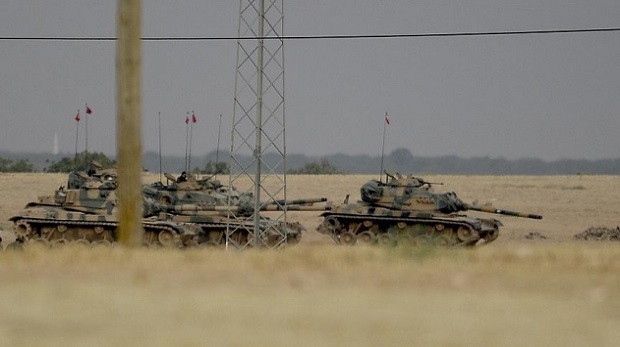 TSK: Tanka saldıran teröristler imha edildi!