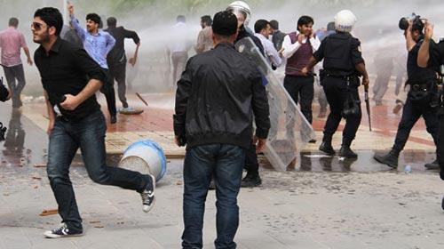 Dicle Üniversitesi'nde kavga