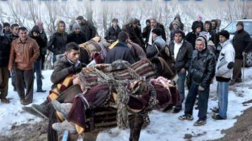 Uludere mağdurlarına 123'er bin lira tazminat