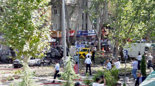 Ankara'daki Patlamada 6 Gözaltı