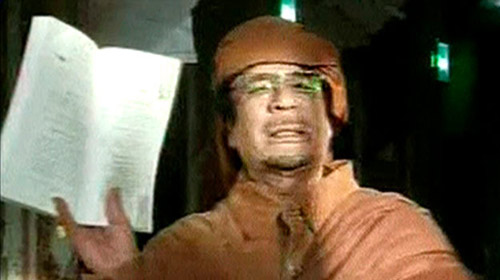 Kaddafi'yi BM Korkusu Sardı