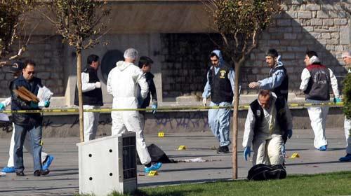 Taksim'de Bombalı Saldırı