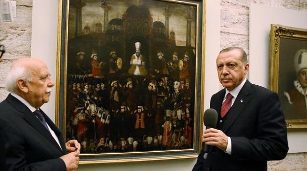 'Genç Osman'ın Cülus-ı Hümayun Tablosu' Topkapı Sarayı'nda