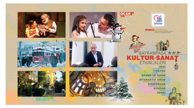 Bayrampaşa kültür sanat etkinlikleri (15-31 Ocak)