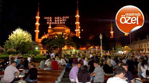 Ramazan Gecelerinin Süsü: Mahya