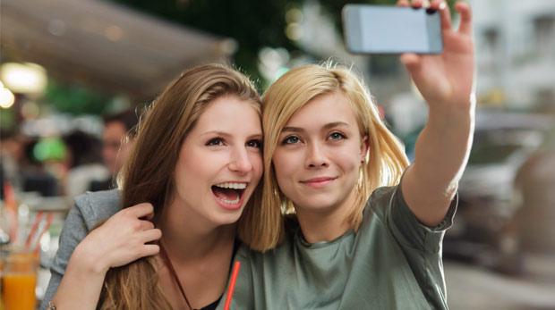 Dişlere selfie ayarı!