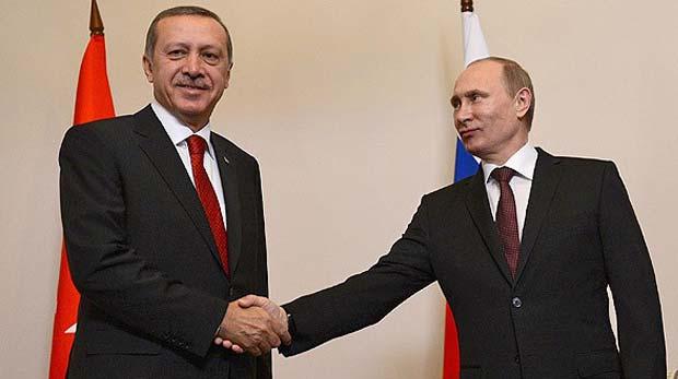 Putin'den Başbakan Erdoğan'a tebrik