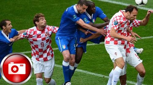 İtalya Hırvatlardan yine kaçamadı!