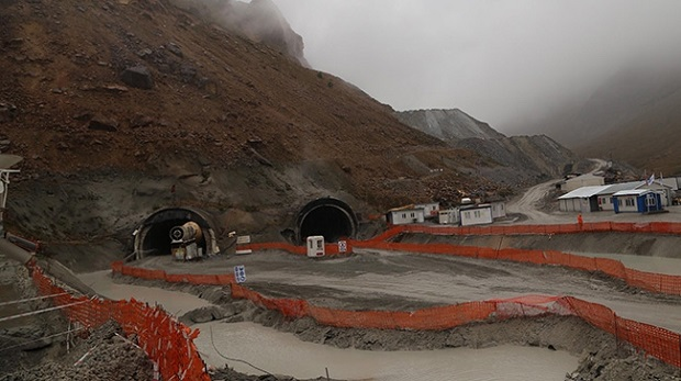 Dünyanın en uzun ikinci tünelinde sona doğru