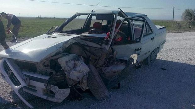 Öğretmenler TEOG sınavına giderken kaza yaptı