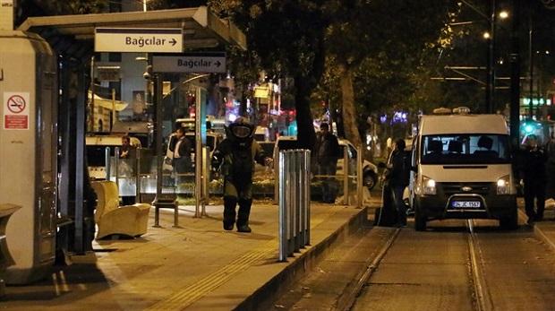 Bomba ihbarı tramvay seferlerini aksattı