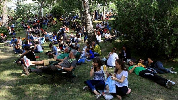 Gezi Parkı, Fatih'ten nasıl görünüyor?