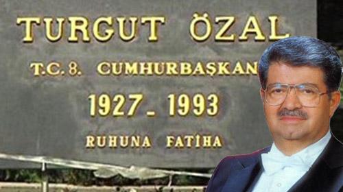 Ergenekon Savcısı da Özal'ın mezarında