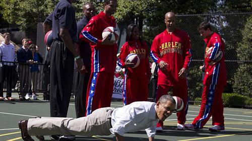 Atletik Obama İş Başında!