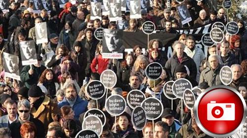 Hrant Dink Kararını Protesto Ettiler