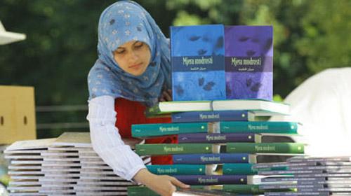 Saraybosna'nın ilk Ramazan kitap fuarı