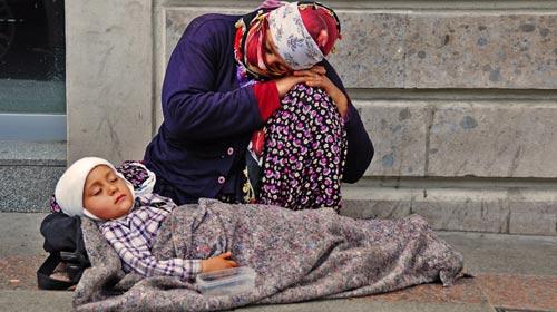 Dilendirilen çocuklar sokaktan kurtarılıyor