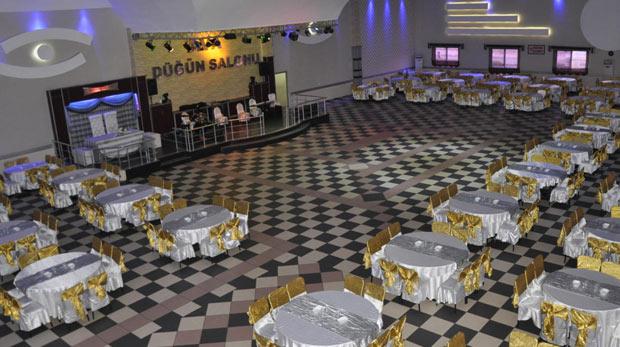 Düğün için salon bakanlar aman dikkat!