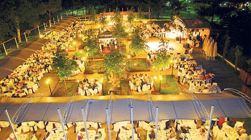 Düğünlerin gözde mekanı sosyal tesisler