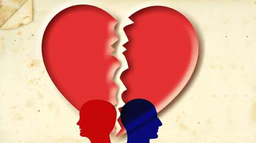 Geçimsizler boşanıyor