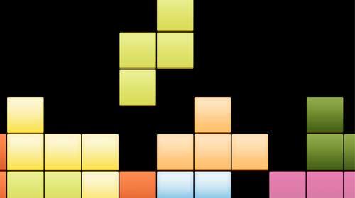 Göz tembelliğine Tetris birebir