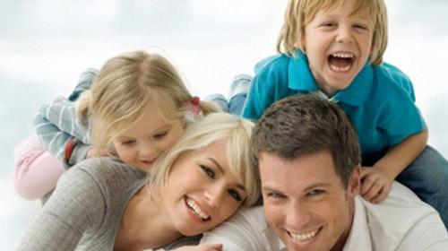Türkiye'de mutluluk kaynağı aile!