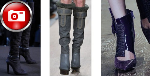 Kadın Çizmelerinde Bu Yılın Modası!
