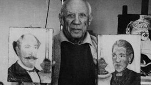 Picasso'nun Gizli Eserleri Bulundu