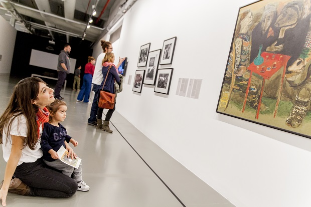 İstanbul Modern'de ailece sanat atölyeleri