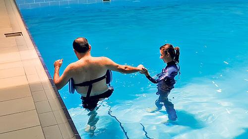 Yüzme Değil Tedavi Havuzu