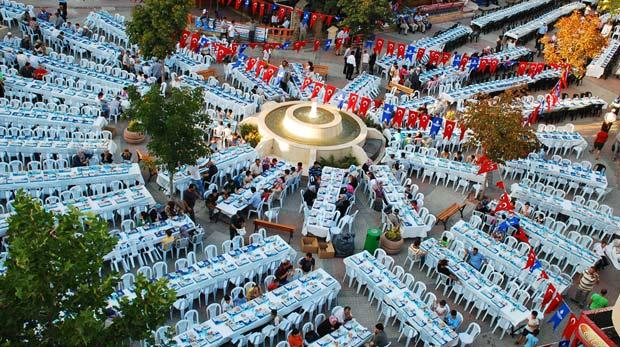 İstanbul'da ramazan çadırları nerede kuruluyor