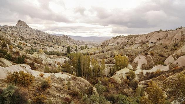 Kapadokya'da sonbahar…