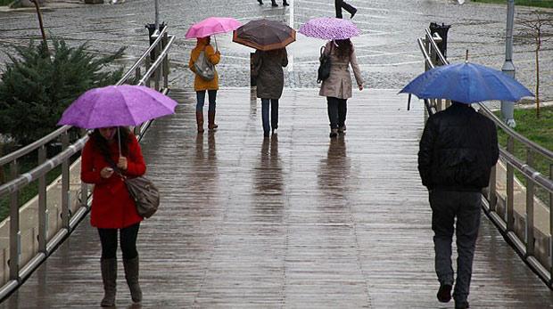 Bugün hava yağmurlu, Sağanak yağış beklenen iller