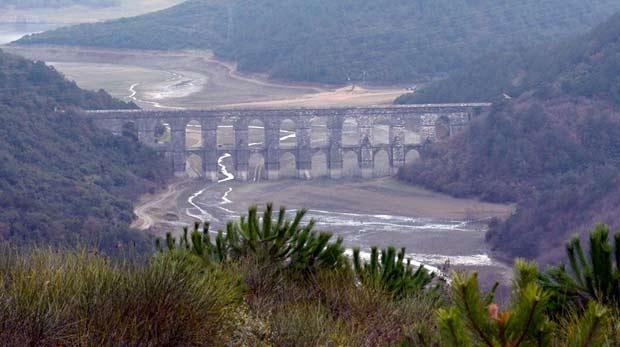 İstanbul'da yağan yağmur barajları doldurmadı