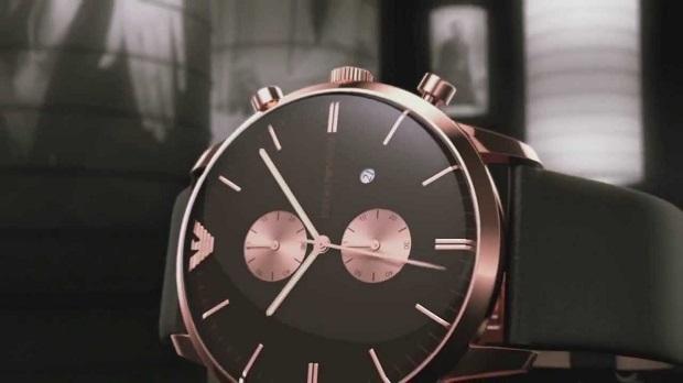 Dünyaca ünlü Emporio Armani modelleri Moda Saat'te