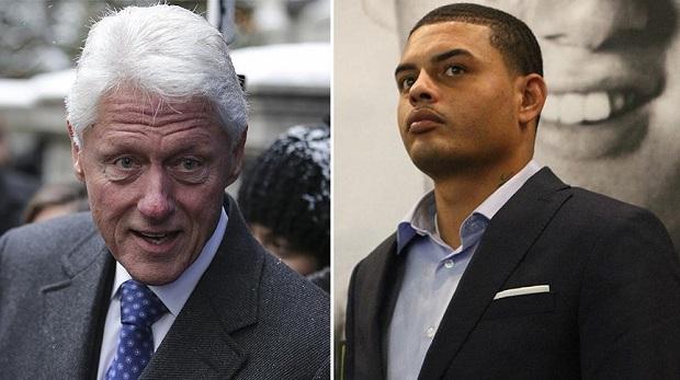 Siyahi genç, Bill Clinton'un oğluyum