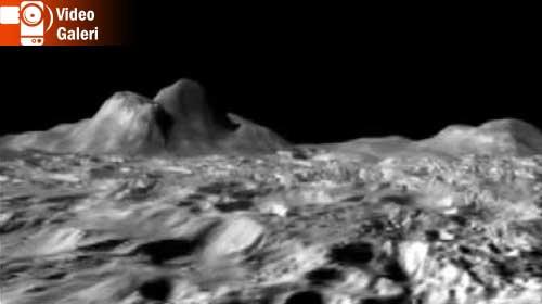 Ay'ın ilk kez yayınlanan görüntüleri