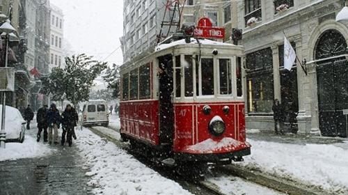 İstanbul'da kar alarmı verildi