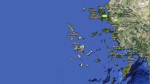 """16 Ada Yunanistan'a Geçti"""