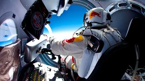 Uzay'dan atlayış iptal edildi