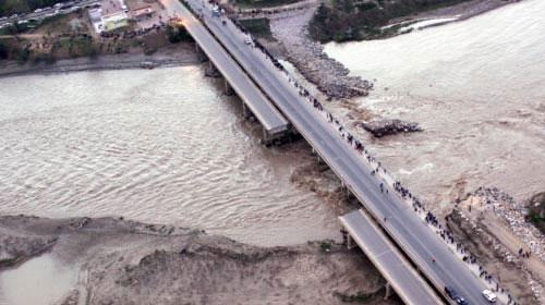 Çaycuma'daki Köprünün Çökme Nedeni
