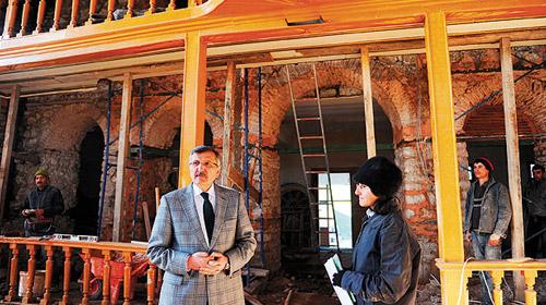 İstanbul'un İlk Camisi Restore Ediliyor