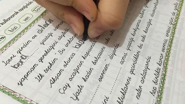 'Bitişik el yazısı' tercihe bırakıldı