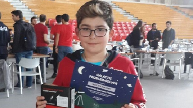Yağız Efe Karadayı Nasa Space App Challenge yarışmasında birinci oldu!