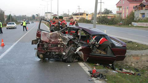 Afyonkarahisar'da Kaza: 5 Ölü, 54 Yaralı