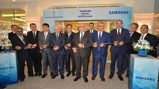 Samsung Dijital Kütüphane açıldı