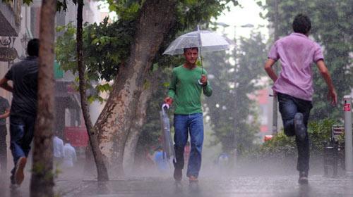 Beklenen Yağmur Geldi