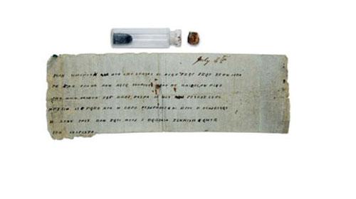 Şişedeki Mesaj 147 Yıl Sonra Çözüldü