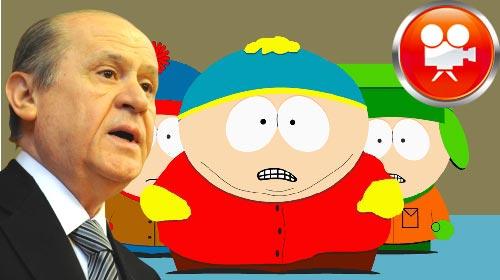Bahçeli'nin Püskeviti South Park'a Konu Oldu!